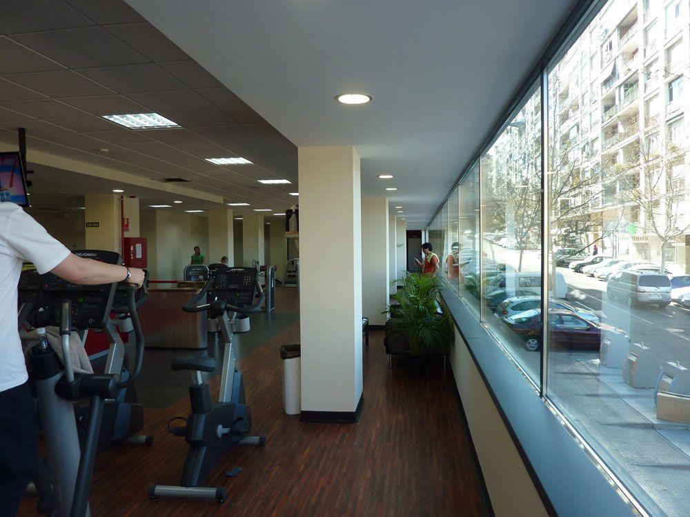 Acondicionamiento y apertura de un gimnasio en Alcorcón (Madrid) - Locales comerciales