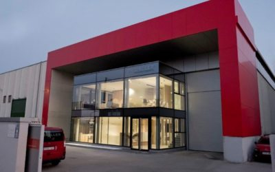 Reforma de edificio industrial. Construcción de módulo de oficinas en Getafe