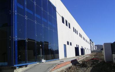 Construcción de naves industriales nido en Aranjuez (Madrid)