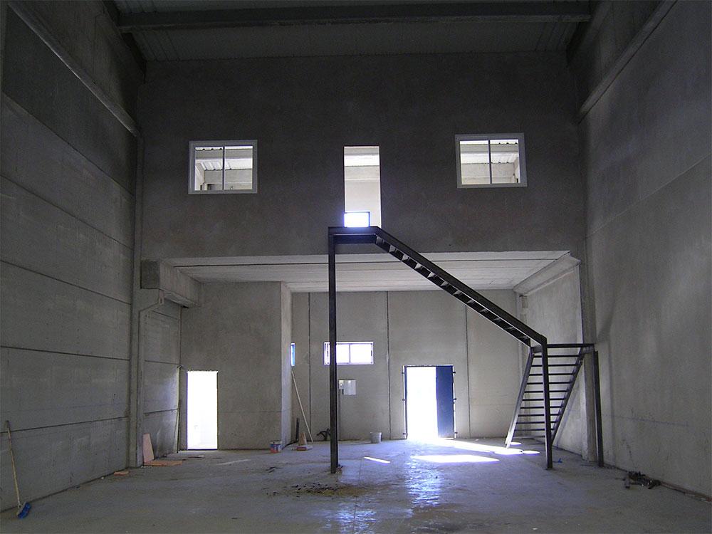 Construcción de naves industriale nido en Aranjez (Madrid) - Polígono Gonzalo Chacón