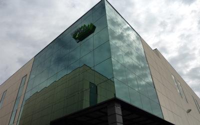 Construcción de conjunto industrial comercial en Getafe (Madrid)