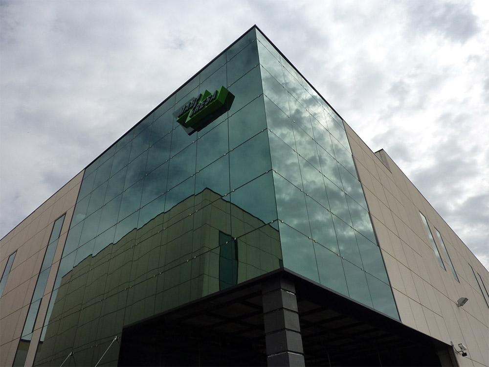 Construcción industrial y comercial en Getafe (Madrid) -  La Carpetania