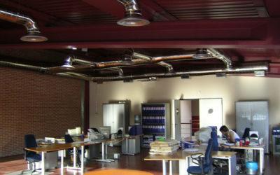 Construcción de nave industrial y de oficinas en Aranjuez (Madrid) – Tourist Bus Spain