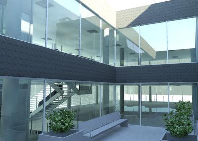 Construcción de nave industrial y de oficinas en Madrid (Pinto) - UFP España